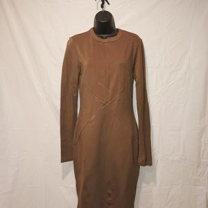 New York and Co. Brown dress size 8